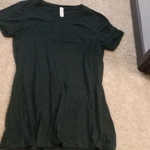 Hunter green tshirt
